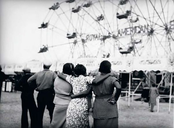 Eudora Welty, Sideshow Wonders, State Fair, Jackson, Mississippi, 1939. By the way, remember Eudora the email app? It was named after a short story by Eudora Welty.
