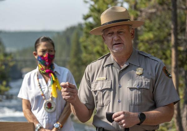 One million visitors flocked to Yellowstone in July