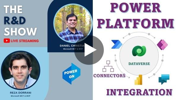 Power Platform Integration - Power Apps, Automate, Power BI & Virtual Agents - R&D Show #1