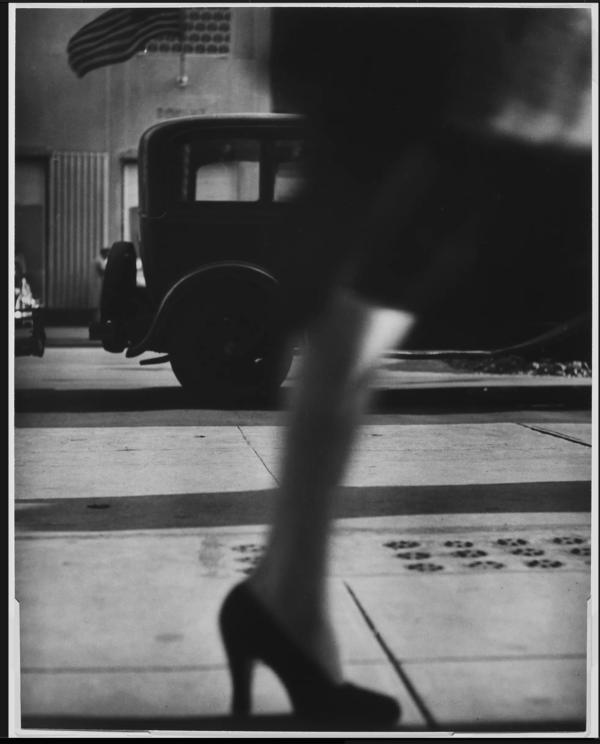 Lisette Model, Running Legs, Forty-Second Street, New York, circa 1940-41.