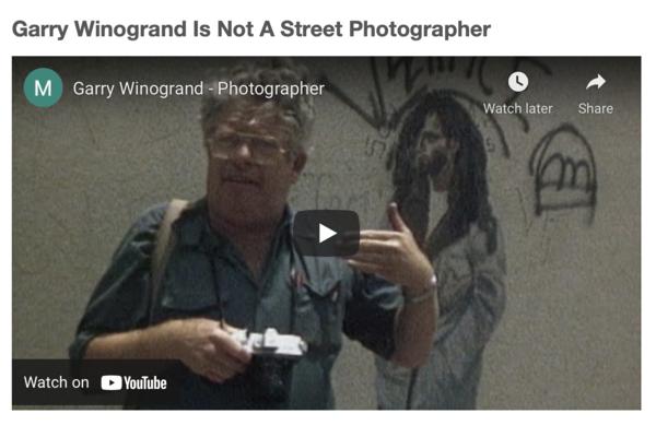 Garry Winogrand - Photographer