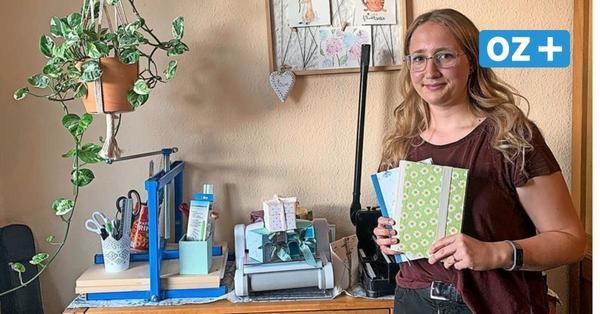 Perfektion aus Papier: Wie sich eine junge Stralsunderin einen Nebenjob erbastelt hat