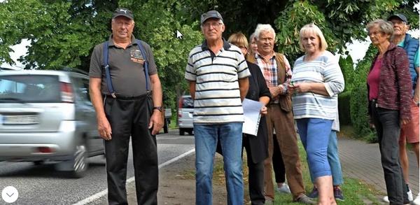 Protest gegen Lärm und Abgase: Was Anwohner in Grevesmühlen jetzt fordern