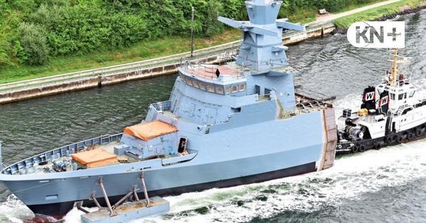 Wie eine halbe Korvette von Kiel nach Hamburg kommt
