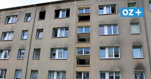 Wismar: Nach Brandstiftung im Mehrfamilienhaus - Mieter obdachlos?