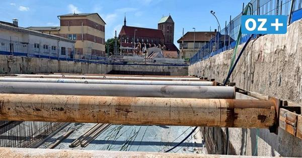 Halbzeit auf Wismars größter Baustelle: So liegen die Arbeiten in der Poeler Straße im Zeitplan