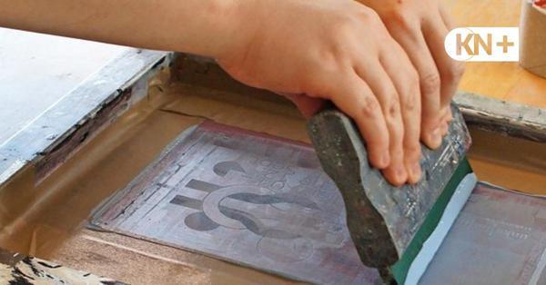 Siebdruck-Werkstatt: Traditionelle Technik trifft modernes Flair