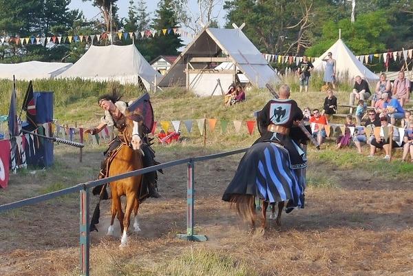 Mittelalterliche Ritterspiele in Dierhagen (Foto: Susanne Retzlaff)