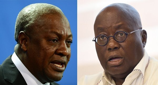 Tell Akufo-Addo that the E-blocks that are standing, he's a disgrace to our national reputation – Mahama blasts Akufo-Addo