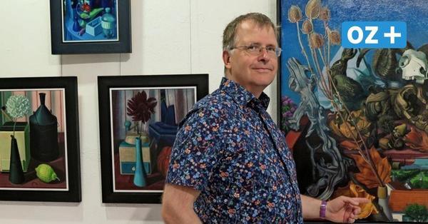 Galerie in Ahrenshoop zeigt farbenfrohe Werke von Lars Lehmann