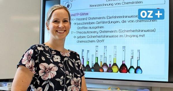 Greifswald: Biochemikerin wagt beruflichen Neustart als Lehrerin