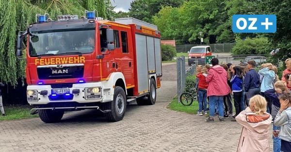 """Barth: Darum war die Feuerwehr beim Hort""""Villa Kunterbunt"""" im Einsatz"""