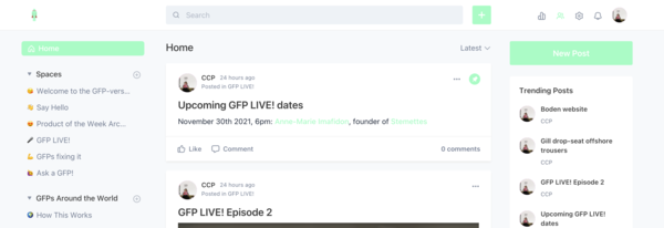 GFP-verse homepage