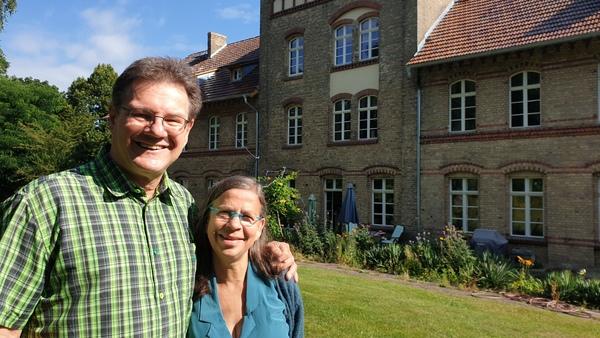 Martina Breyer und Lutz Raschke (Foto: Bürstenbinder)