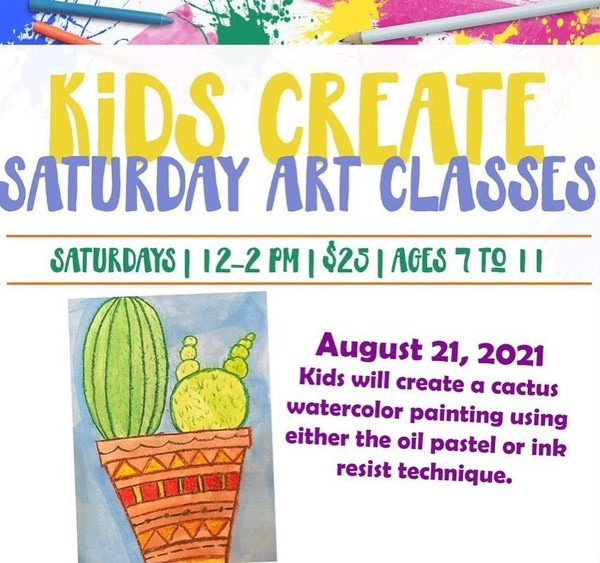 Join Willow Oak Center for Arts and Learning for Mommy & Me and Kids Create this Saturday August 21!