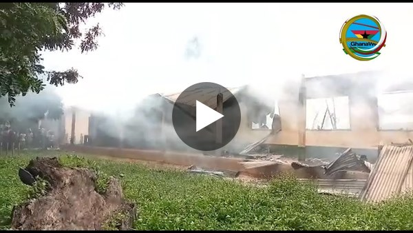 Fire destroys several properties at St. Charles Minor Seminary