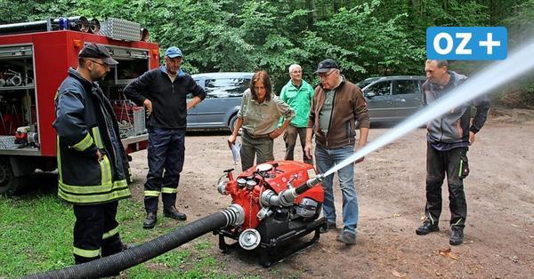 Waldbrände: So wird auf Usedom für mehr Löschwasser gesorgt