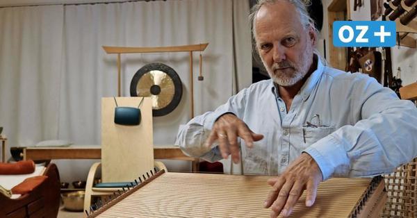Freude bei Instrumentenbauer in Pulow: Verkauf von Monochorden und Schlitztrommeln boomt