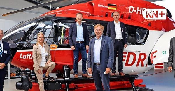 """""""Christoph 42"""" bei der Luftrettung Rendsburg: Das kann der neue Heli"""
