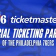 76ers Announce Ticketmaster as Official Ticketing Partner | Philadelphia 76ers