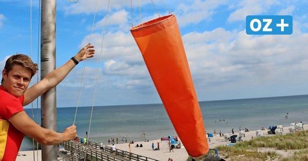 Wasserrettung in Prerow: Das bringt Badegäste am häufigsten in Gefahr