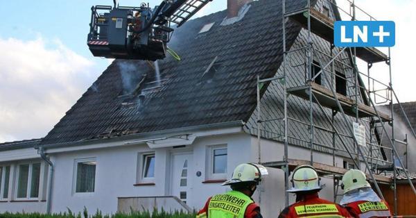 Gleschendorf: Feuer macht Einfamilienhaus unbewohnbar