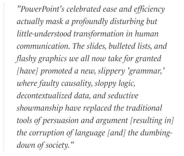Harvard Just Discovered That PowerPoint Is Worse Than Useless