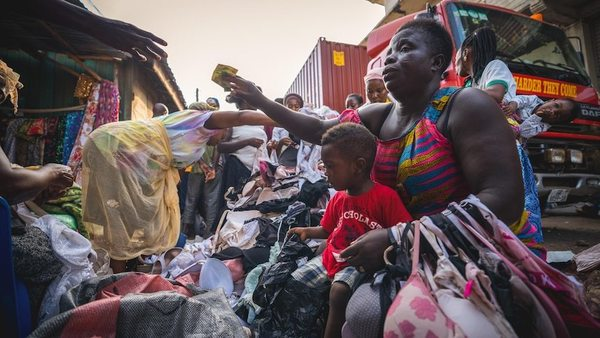 Dead white man's clothes: How fast fashion is turning parts of Ghana into toxic landfill