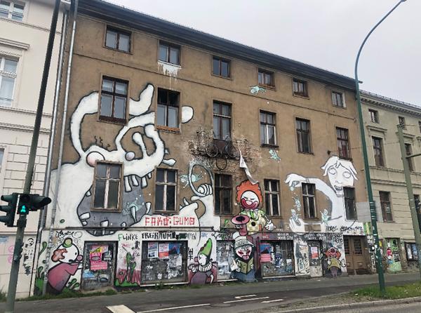 "Das ""Bleck Fleck"" in der Zeppelinstraße 26. Foto: Peter Degener"