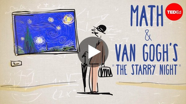 """The unexpected math behind Van Gogh's """"Starry Night"""""""