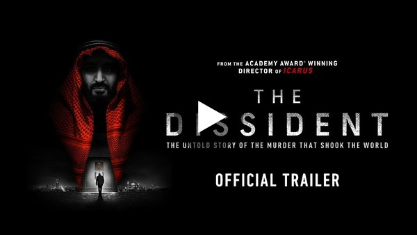 THE DISSIDENT | Official Trailer | NOW PLAYING IN THEATRES, AT HOME ON DEMAND JAN 8