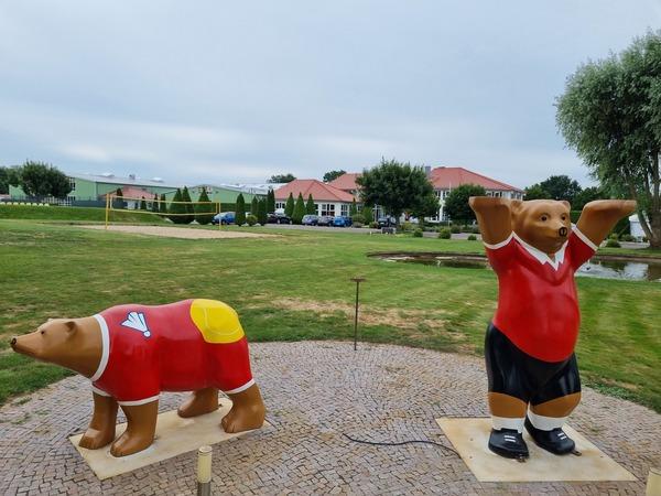 Das Bärenpaar von Seeburg. (Foto: Marlies Schnaibel)