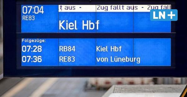Bahnstreik im Liveticker: Das ist die Lage in Lübeck und Schleswig-Holstein