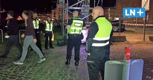 Lübeck: Alkoholverbot - so liefen erste Kontrollen auf der Wallhalbinsel