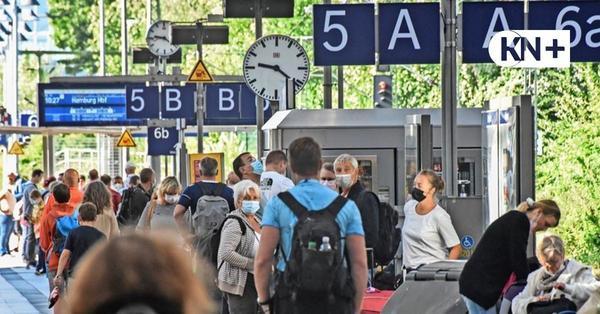 Lokführerstreik sorgt am Kieler Hauptbahnhof für genervte Bahnreisende