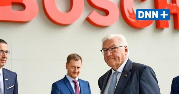 Steinmeier in Dresden: Zeit für neues ostdeutsches Selbstbewusstsein