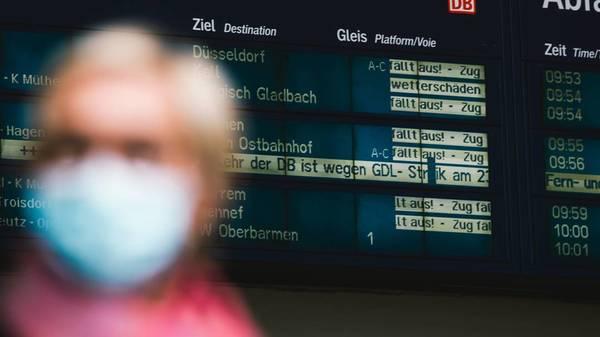 Bahnstreik der GDL: Viele Züge stehen still - keine Einigung in Sicht