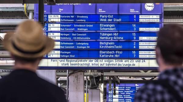 Bahnstreik und Arbeit: Was gilt für Beschäftigte bei Verspätungen und Zugausfällen?
