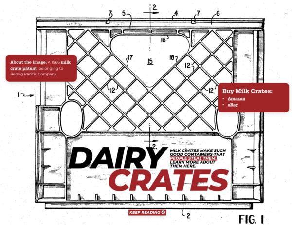 My new single-serving site, DairyCrates.com.
