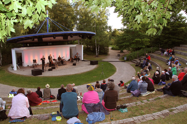 Kultur in der Natur: Im Park der Sinne finden immer wieder Konzerte statt. Foto: Torsten Lippelt