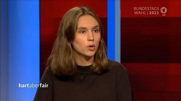 """""""Hart aber fair"""": eine Klimaaktivistin gegen alle"""