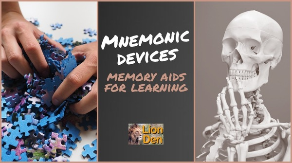Mnemonics | Memory Aids to Help You Learn Many Bits of Information