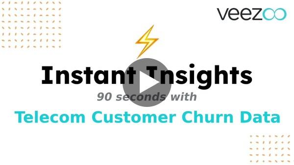 Instant Insights: 90s with Telecom Customer Churn Data