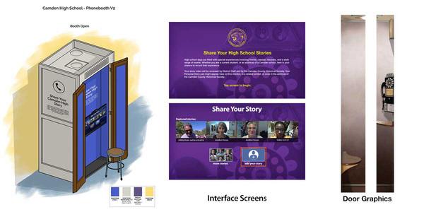 Refurbish Designs                  Interactive Screen Designs         Outside Door Graphics