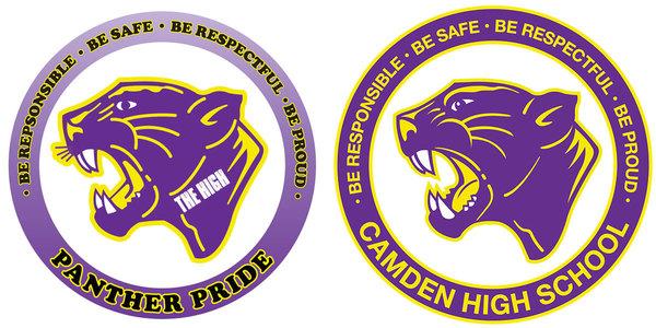 Original Camden High Logo                                          Updated Logo