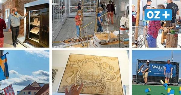 Wismar: Ein Hauch von Schwedenfest mit Museum, Kubb und Kindern