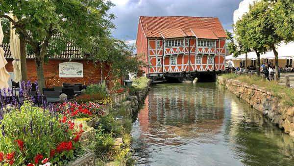 Das alte Gewölbe im Spätsommer (Foto: Helmut Kuzina)