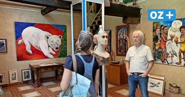Kunst offen: Besucher erwartet neue Ausstellungen in Ateliers rund um Grimmen