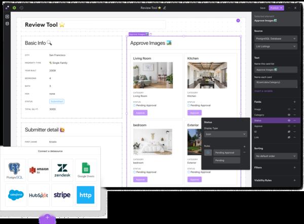 The No-code App Platform for Internal Tools.