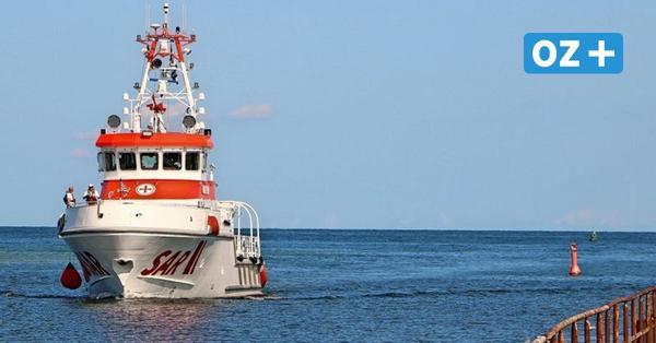Darßer Ort: Neuer Seenotkreuzer macht im Nothafen fest